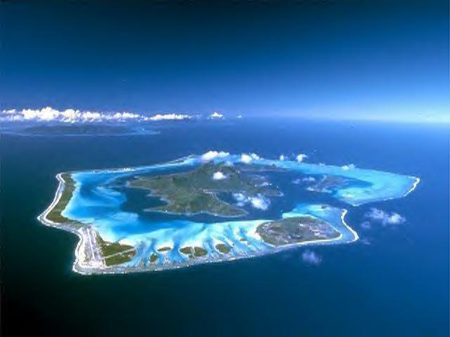 Бора Бора Фрянцузкая полинезия