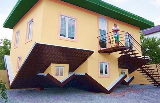 Дом наоборот в Геленджике