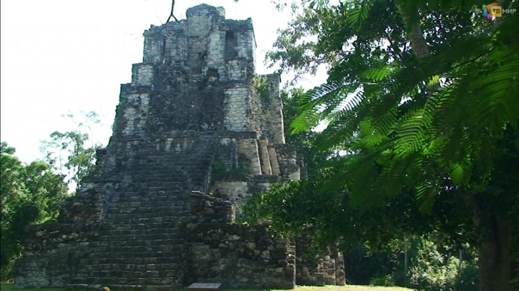 Мексика Муйиль древний город Майя