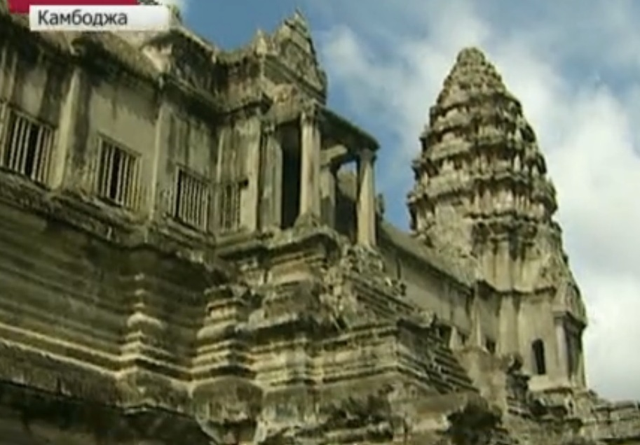 Находка раскопки Камбоджа