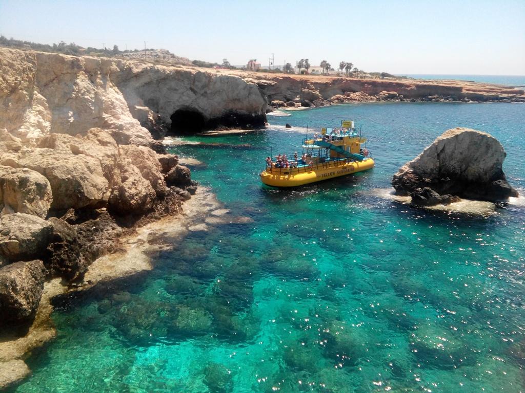 Пиратские гроты Айя Напа Кипр