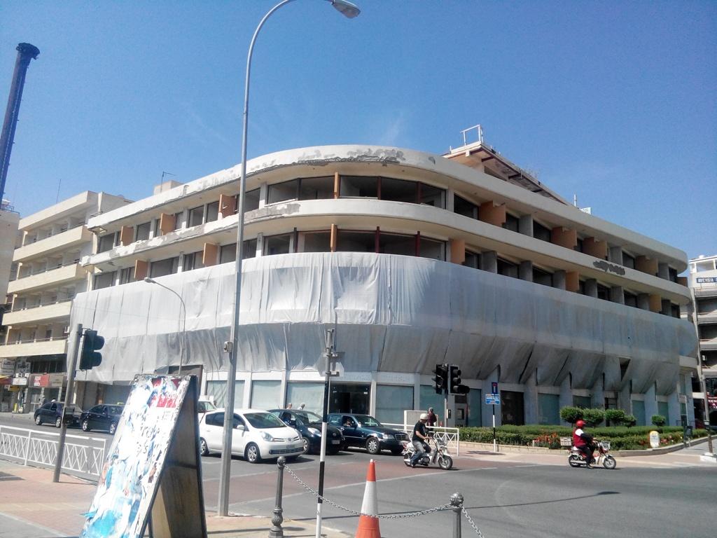 Брошенное здание