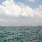 Вид Паттайя с моря