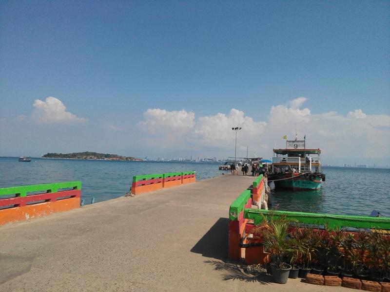 Пирс острова Ко Лан