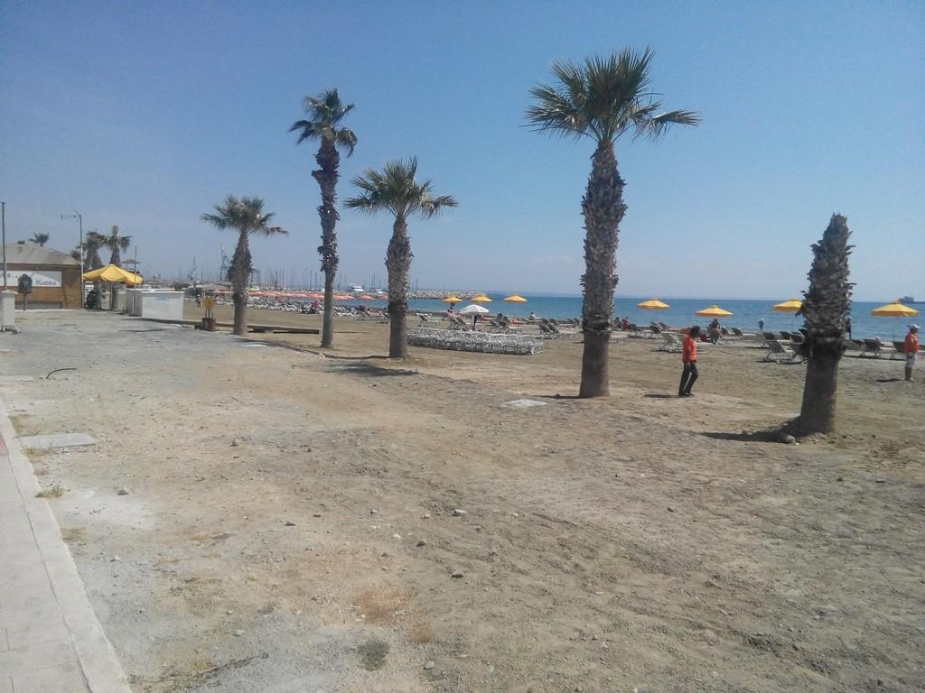 Ларнака прибрежная зона