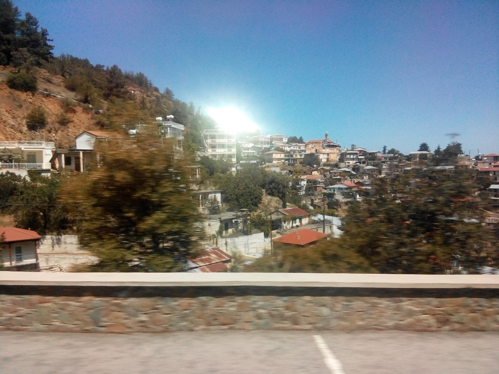 В горах Тродоса