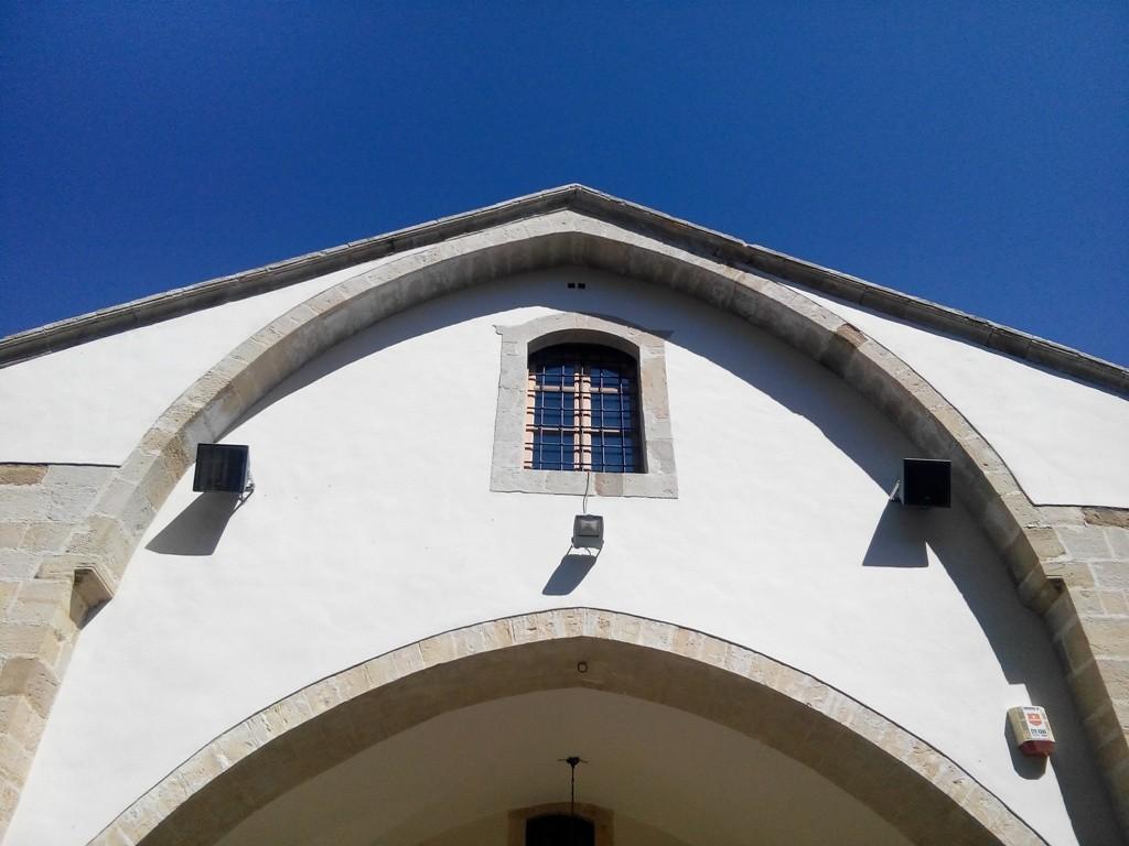 Монастырь в горах Тродоса