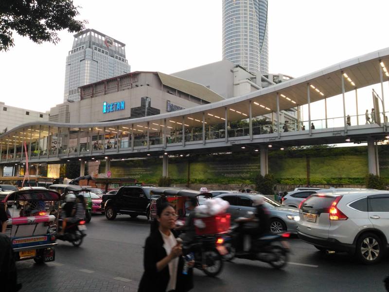 Крупный торговый центр Бангкока