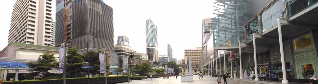 Панорама улицы Бангкока