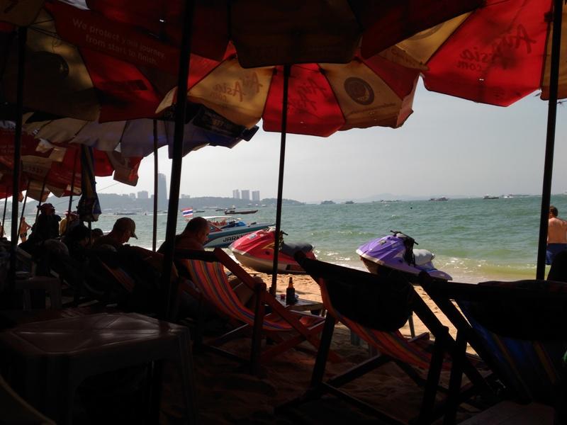 Пляжная кафешка