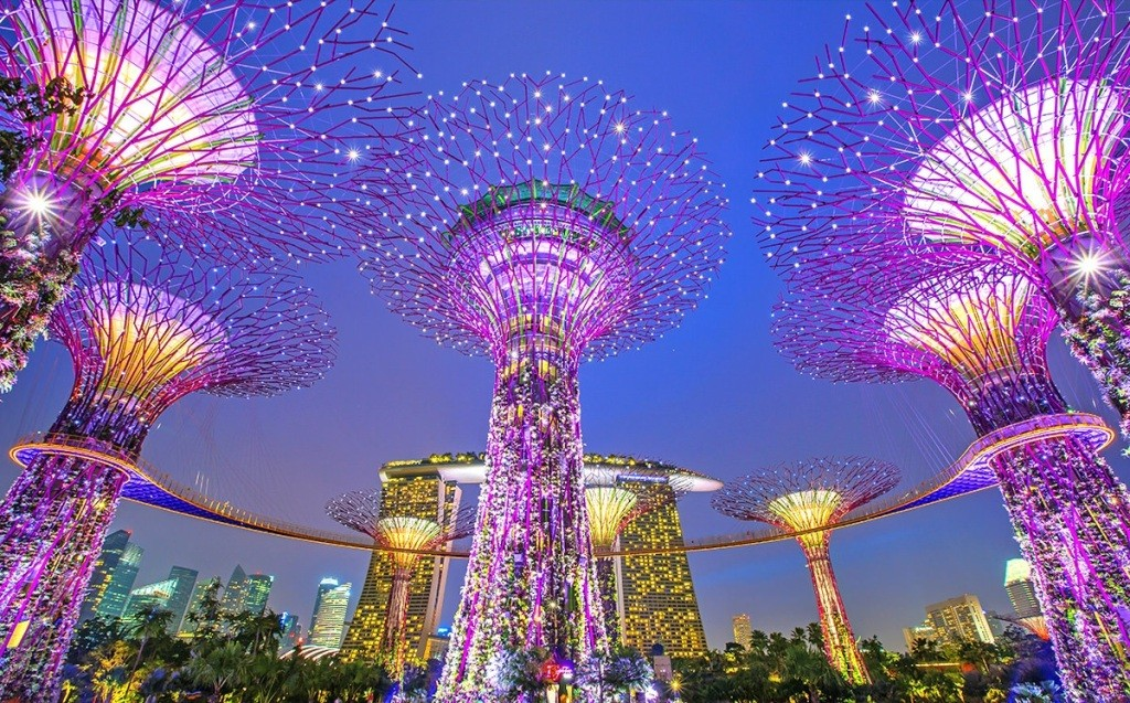 Деревья Аватара Сингапур 3
