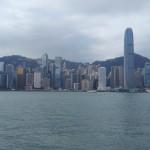 Залив Виктории Гонконг