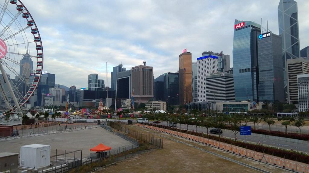 Колесо обозрения в Гонконге