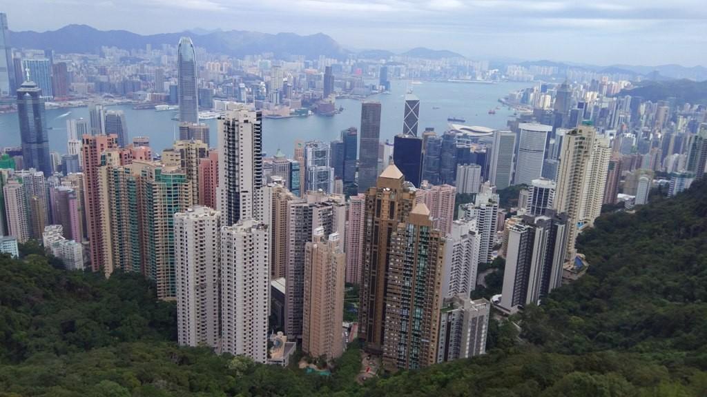 Пик Виктории Гонконг