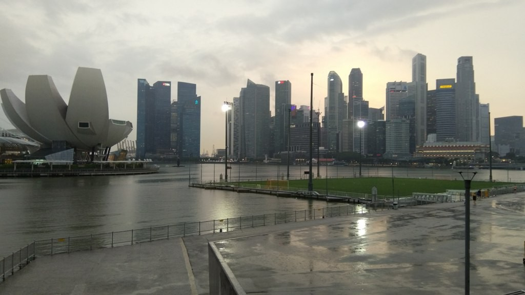 Стадион Лотос Деловой центр в Сингапуре