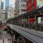 Самый длинный эскалатор Гонконг